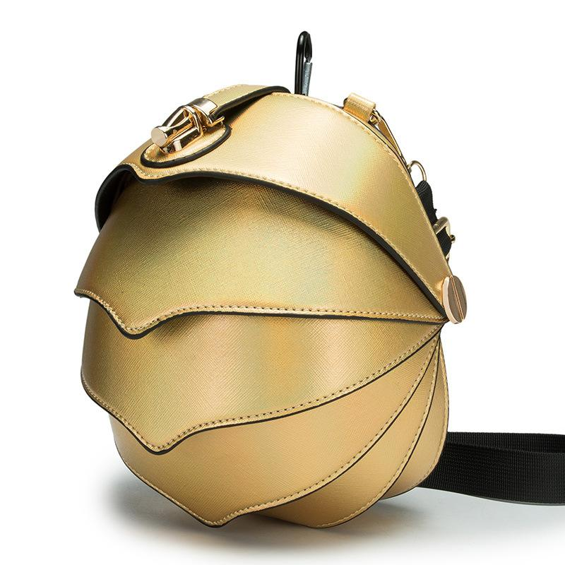 Komik Pangolin şekil kadın Haberci Çanta Manis pentadactyla Crossbody Çanta Yüksek Kaliteli Çapraz paket Orijinal kız bel çantası