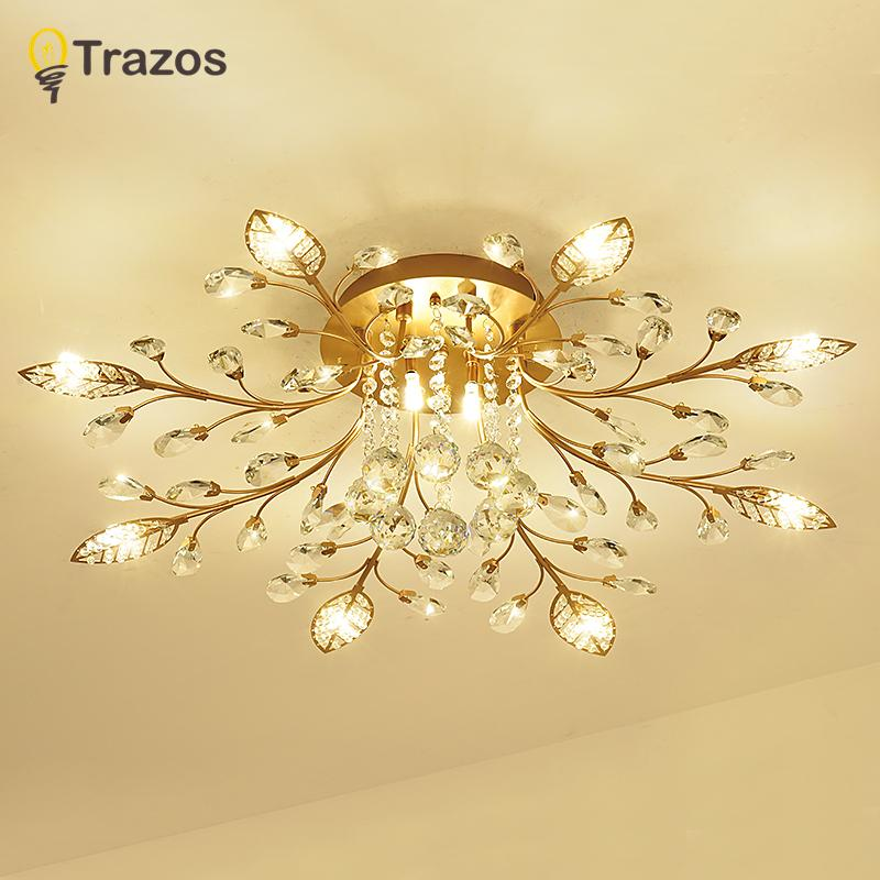 2019 Trazos New Item Fancy Ceiling Light Led Crystal