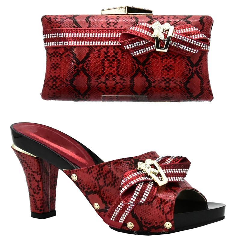 Großhandel Neue Ankunfts Nigerische Partei Schuh Und Taschen Sätze  Afrikanische Zusammenpassende Schuhe Und Taschen Italiener In Den Frauen  Italiener Frauen ... 075aef09e4