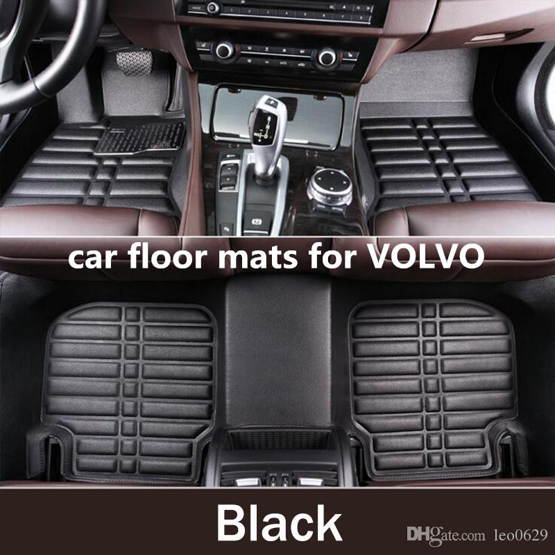 cool car floor mats. Unique Car 2018 Carpet Custom Car Floor Mats For Volvo Xc90 Xc60 S90 S60 V60 V40 V90  Auto Mat Accessories Envelope In Half Carpets From Leo0629  And Cool O