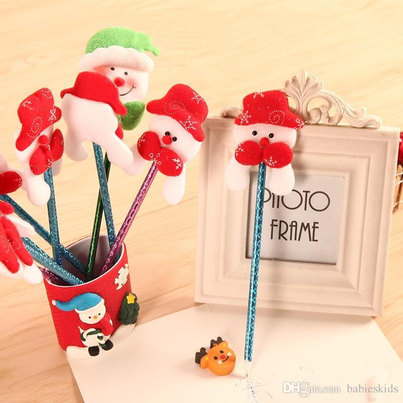 Kreative Weihnachtsgeschenke.Gelstift Büro Kreative Weihnachtsgeschenke Für Kinder Weihnachtsmann Kugelschreiber Kawaii Büro Schule Nette Lieferungen