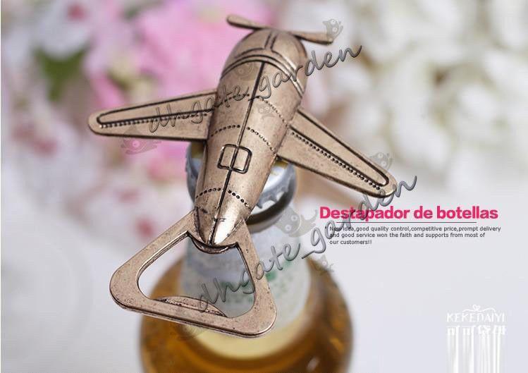 obsequios de regalo de boda para invitados abridor de botellas de cerveza de moda