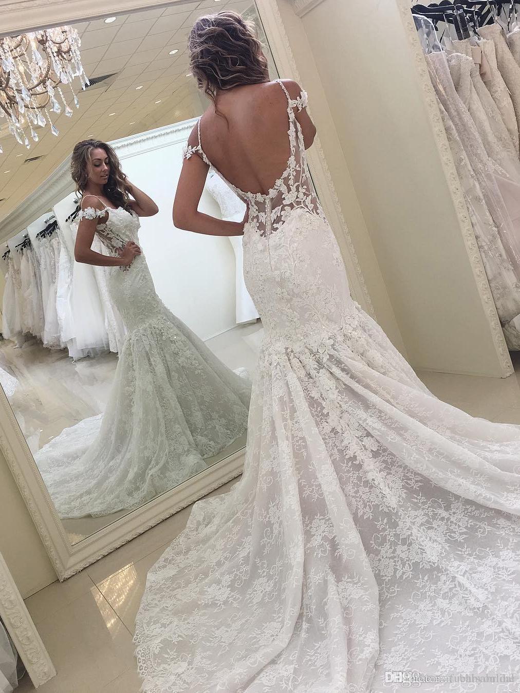Vestidos de novia abiertos de la espalda
