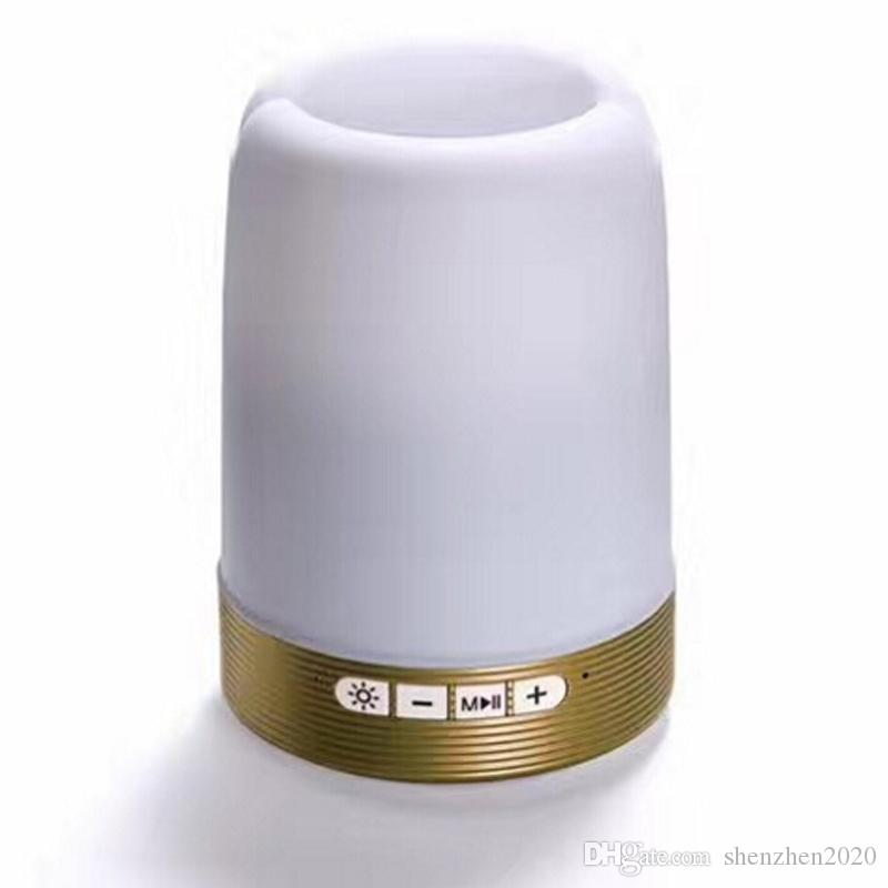 Haut-parleur sans fil Bluetooth porte-stylet support de carte de haut-parleur pour téléphone avec disque U