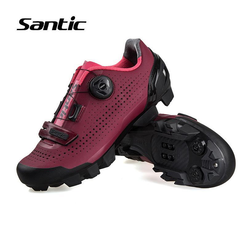 new product 9cc3d 7875c Scarpe da ciclismo Santic Donna Pro Team autobloccanti per mountain bike  Scarpe da ciclismo da ciclismo atletico sportivo Sapatilha Ciclismo