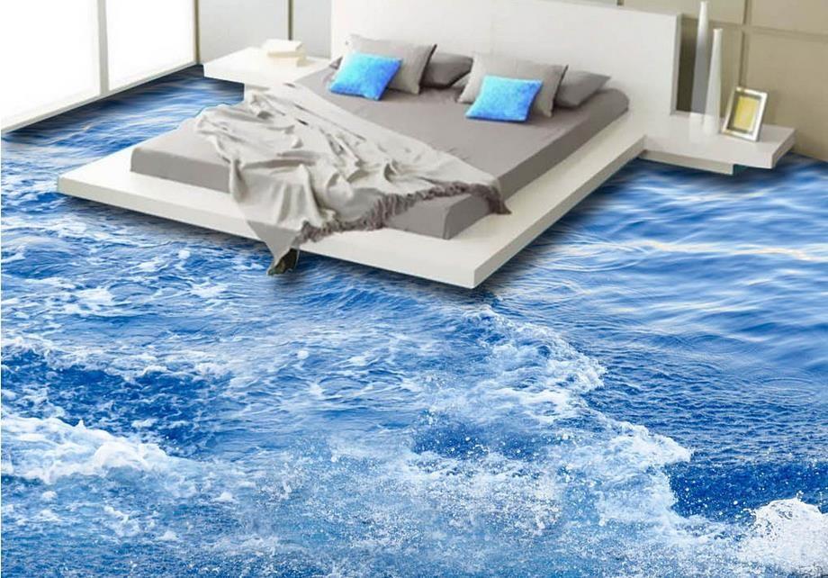 3d Fußboden Schlafzimmer ~ Großhandel benutzerdefinierte d boden wandbilder hd sea
