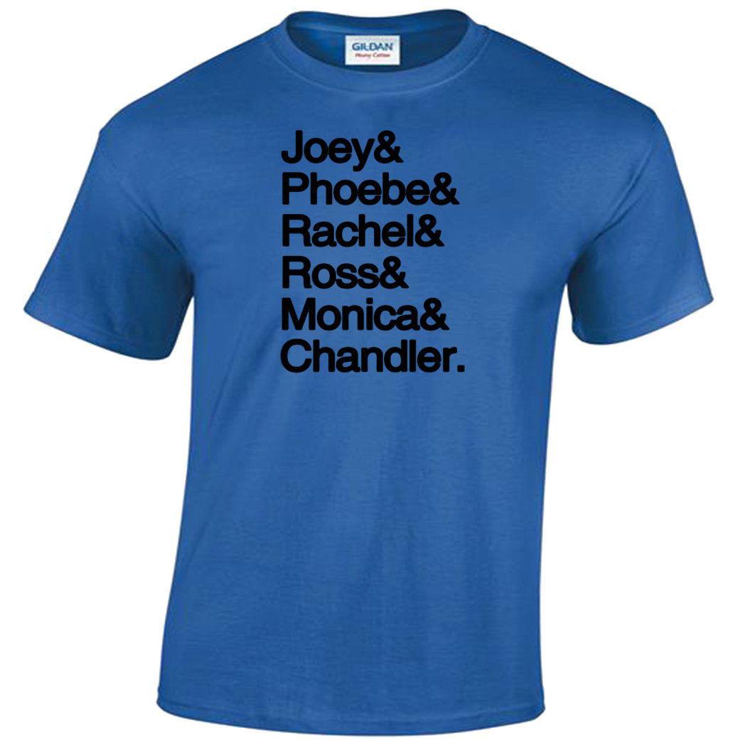 c0916c47ef9 Joey Phoebe Rachel Ross Monica Chandler T-Shirt Friends Gift Present Top  Mens Online with  12.99 Piece on Sonyoasis s Store