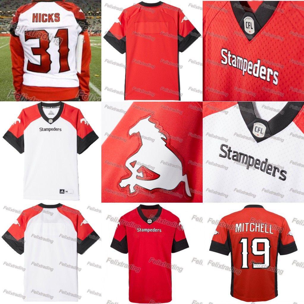 Calgary Stampeders Jerseys 19 Bo Levi Mitchell Jersey Stitched Any ... eb0c32e77