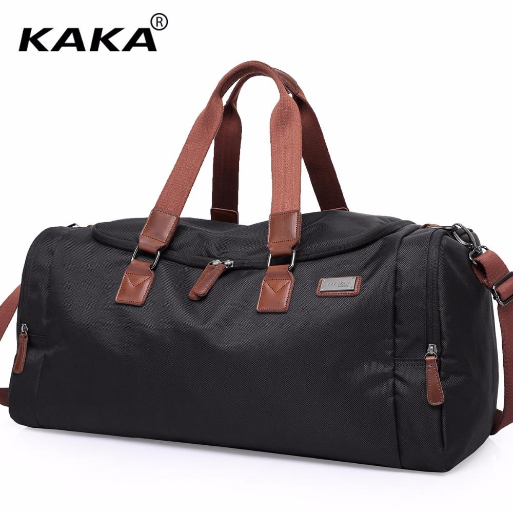 b8ad72771c KAKA Brand New Designer Casual Unisex Business Luggage Bags Waterproof  Women Black Large Capacity Travel Bags High Quality Travel Backpacks Duffle  From ...