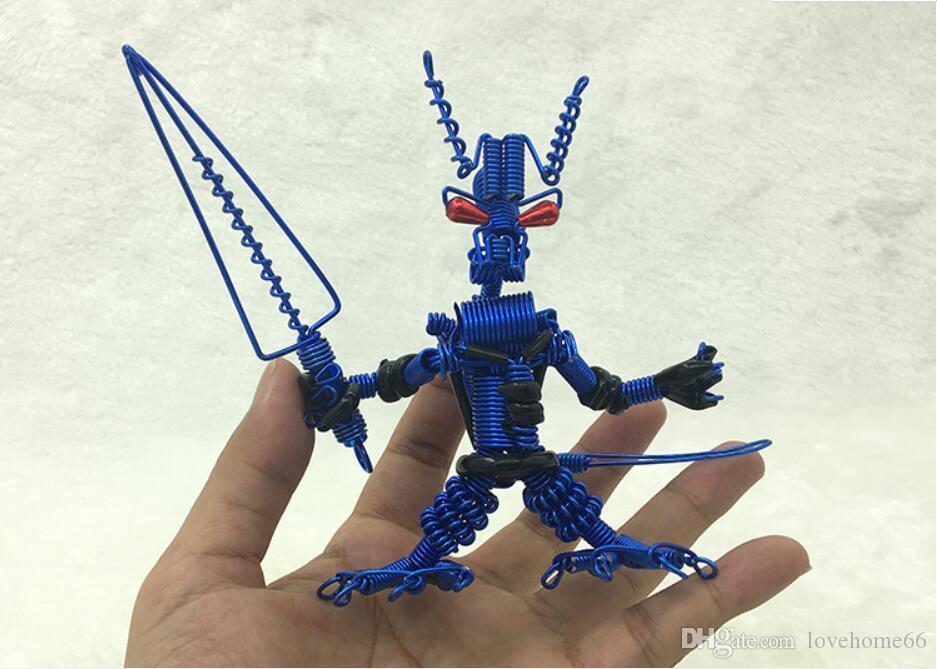 wholesale robot model special handcraft handwork metal robot model Strange new desktop decor Tableware 13*8*5cm