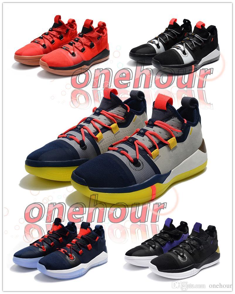new arrivals 5eaf5 896ee Großhandel Kobe AD Black Sail Multicolor Feiert Mamba Basketballschuhe Für Herren  Herren Designer Sneaker EP AV3556 100 Athletic Trainer Witn Box Von ...