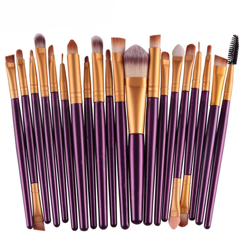 Professional Makeup Brush Set Make Up Toiletry Kit Brand Make Up Brush Set Cosmetics Tools For Women 2016 Wedding Makeup Elf Makeup From Sophine02, ...