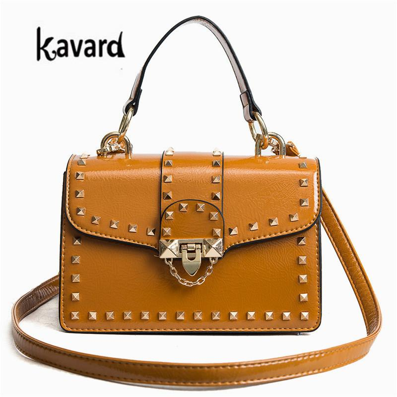 d13418672c6f Rivet Lady Bag Luxury Handbags Women Bags Designer Handbags High Quality  Bags Women Famous Brand For 2018 Designer Purses Satchel Bags From Snappya