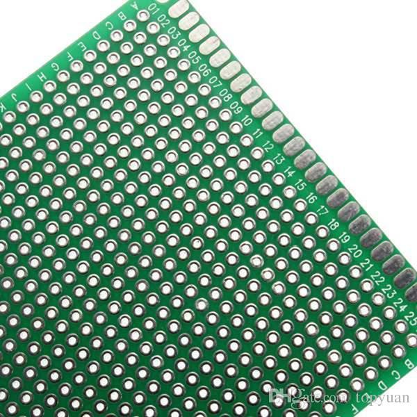 محفظة FR-4 العالمي مزدوج الجانب النموذج PCB مجلس 7 سم × 9 سم