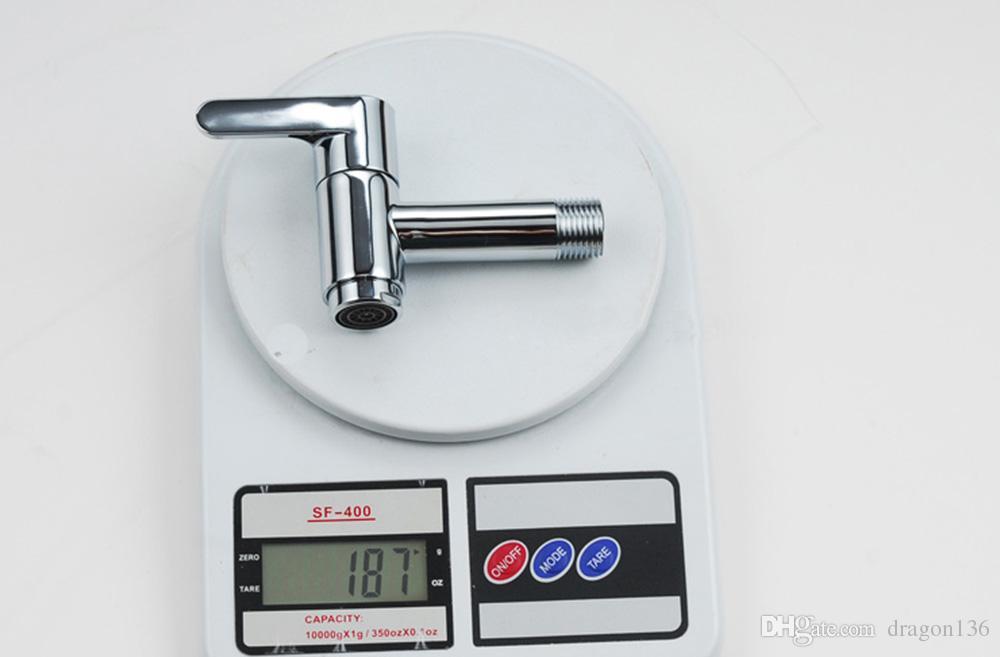 BLL Universal Brass Laundry Faucet Utility Mop Pool Faucets Water Tap Acabado en cromo 18013