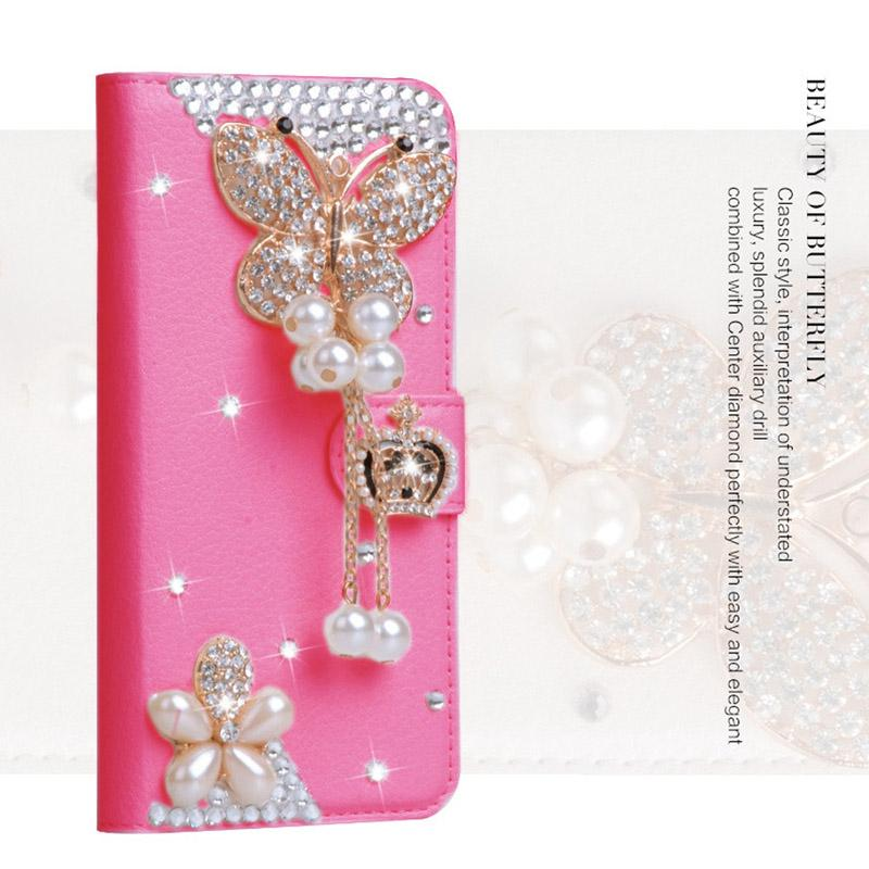 New Hot Women Rhinestone Leather Case Bling Diamond Crystal PU Wallet Cover  For Huawei P9 P10 P8 Lite 2017 Honor 8 Y5 Y3 Ii Nova Phone Covers Make Your  Own ... e93ee4495