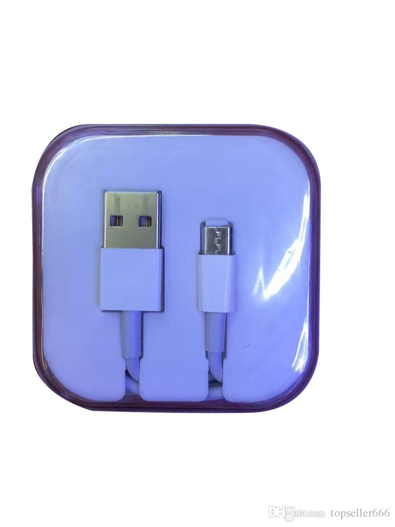 1m 3ft Usb Cables Charging Adapter Cords Charger Wire Sync Data Line Wiring A Plug With Crystal Retail Box
