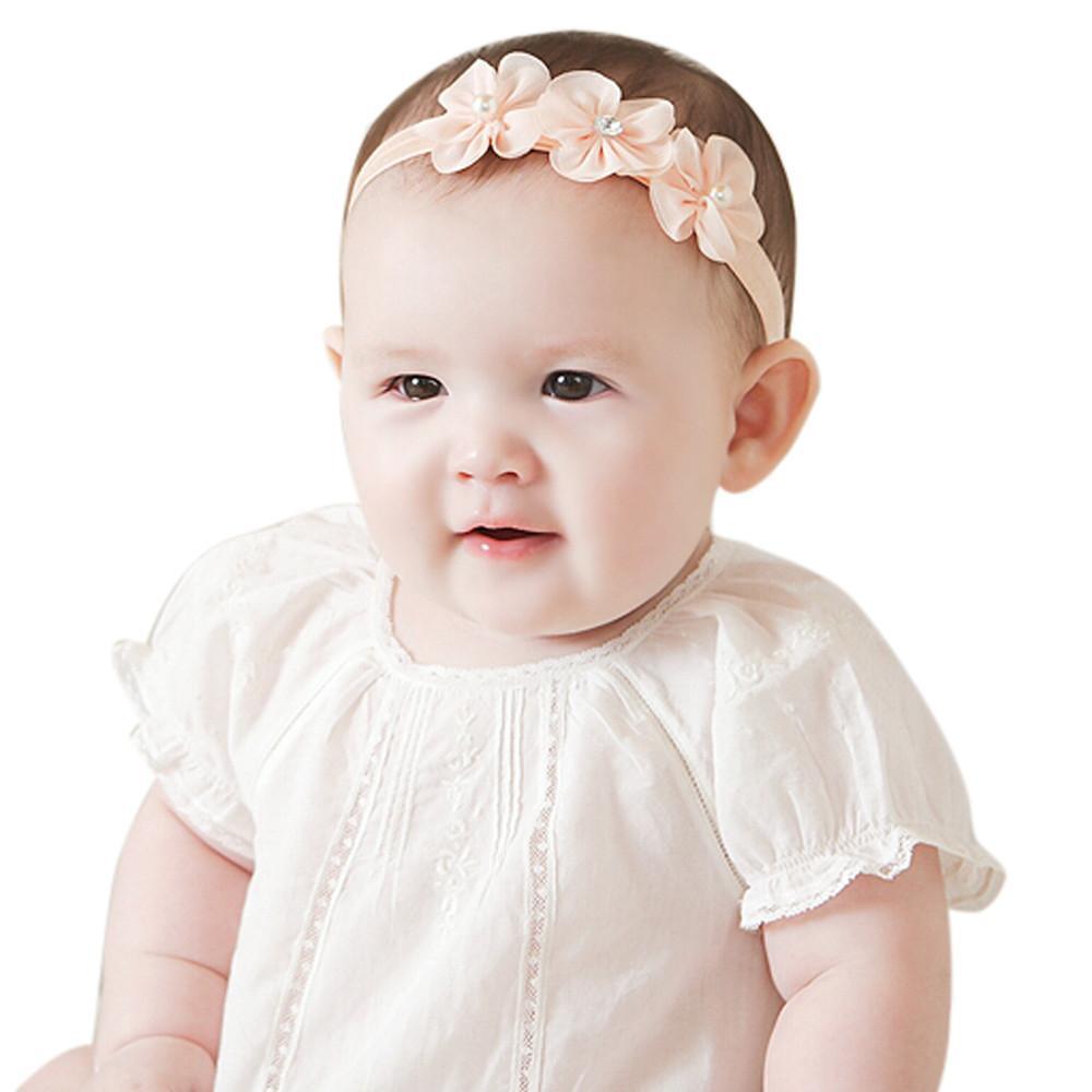 Baby Kid Girls Head Band Princess Crystal Diamond Headbands Flowers Elastic  Hairband Pretty Hair Accessories Ponytail Hair Accessories From Henryk d6055df7cc7