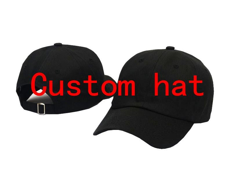 Wholesale Custom Dad Hat 100% Cotton Man woman multiple colour Hip hop  Baseball Cap Snapback hats adjustable