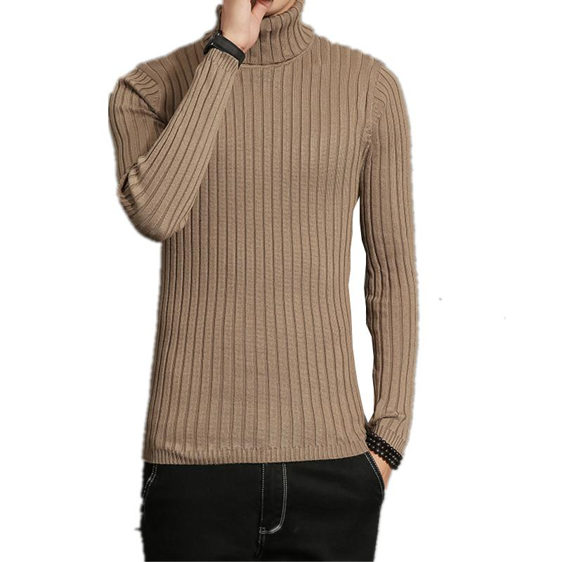 2019 2017 Mens Sweaters And Pullovers Men Winter Warm High Elastic