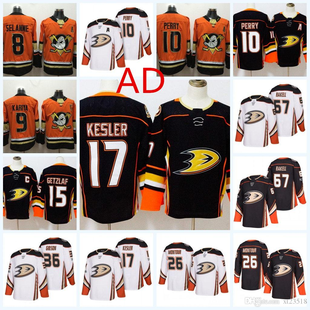 Mens Anaheim Ducks Ryan Kesler Jersey Corey Perry Brandon Montour ... f009a3a75