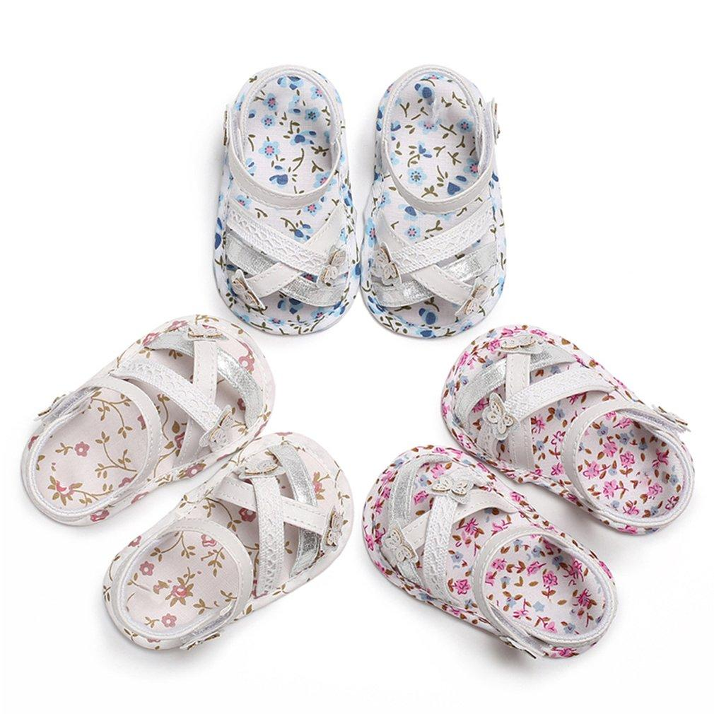 6e1bfd55f00e62 Summer Kids Baby Floral Sandals Princess Open Toe Anti Kick Non Slip Soft Sandals  Children S Wedding Party Shoes Toddler Boy Shoes Girls Shoes Online From ...