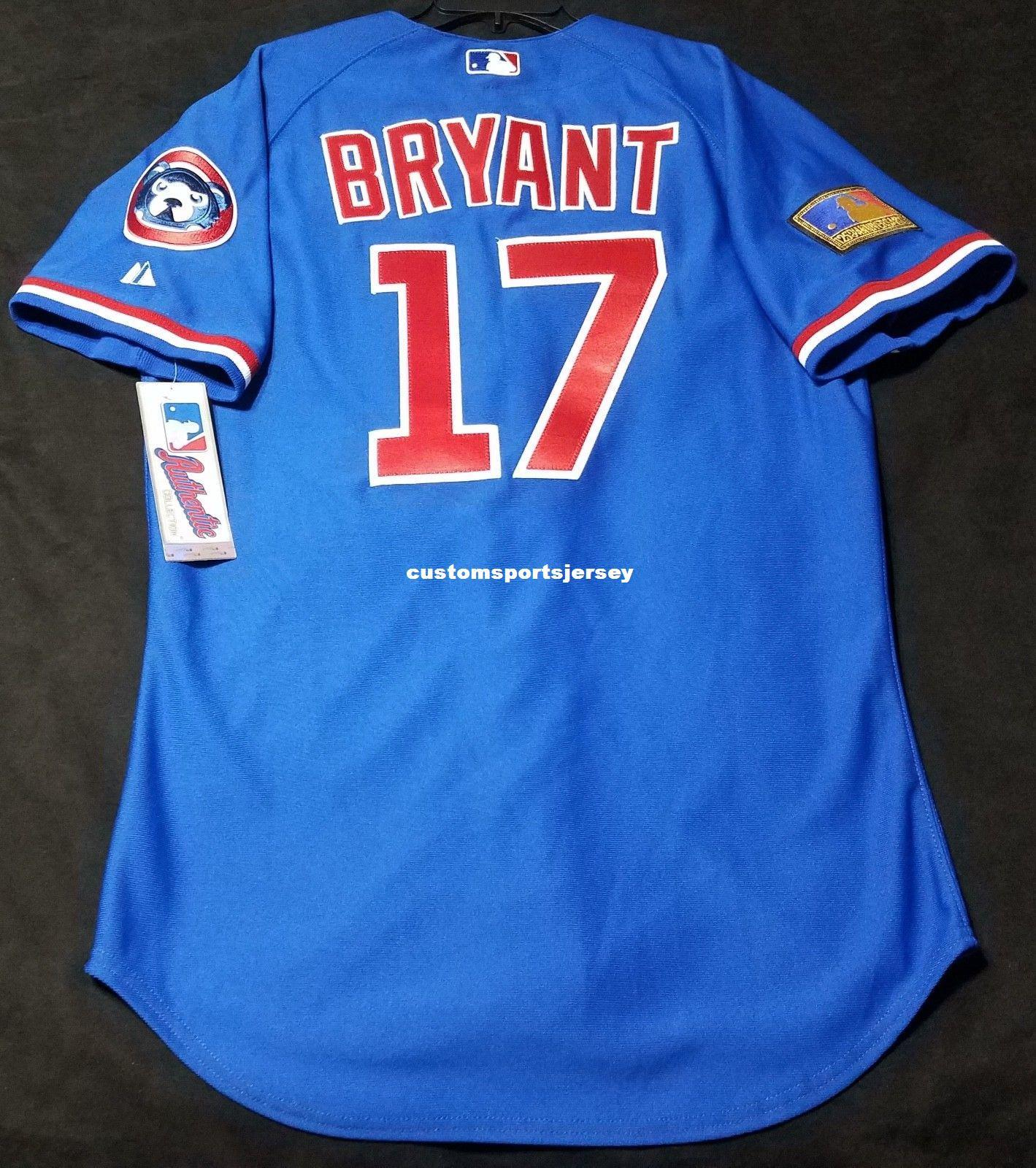free shipping b9f68 44e62 new zealand kris bryant jersey number 7fd25 7d55b