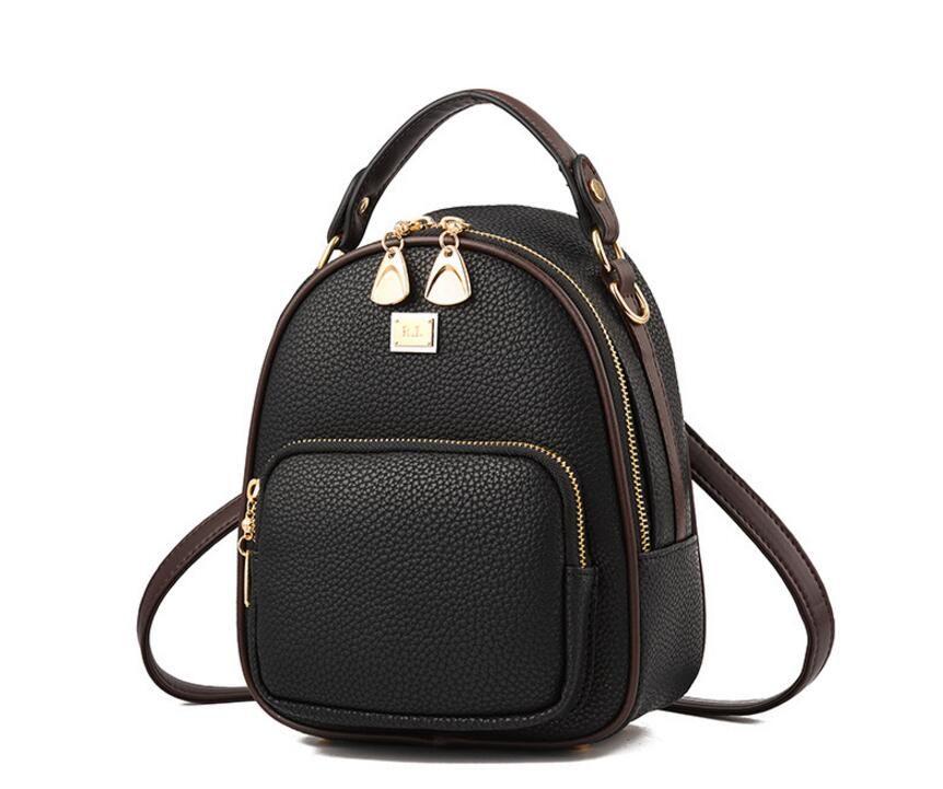 c60f4e881b Wholesale New Women Multifunctional Shoulder Portable Diagonal Shoulder Bag Ladies  Backpack 6 Colours for Choosed Backpack for Teenager Women School ...