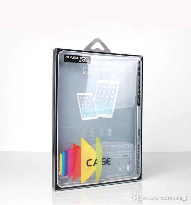 Wholesale Custom Plastic Packaging Box for ipad mini Case Retail Clear PVC Package for Tablet Cover 9 inches Cover