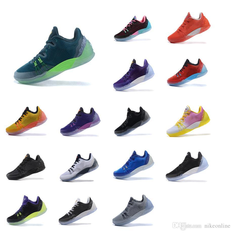 2019 Cheap Mens Kobe Venomenon 5 V Basketball Shoes Black Gold Blue Green  USA KB Venom Mentality Low Cut Sneakers Boots Tennis For Sale With Box From  ... 5b5c4c11a
