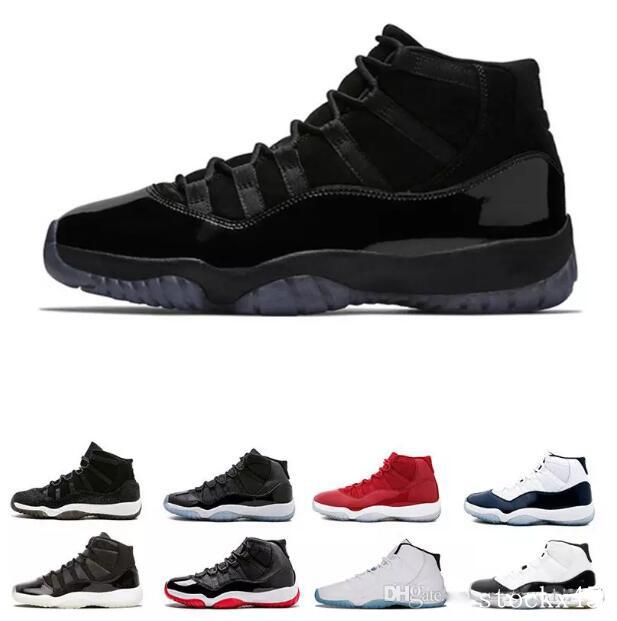 2019 Stockx 11 11s Cap And Gown Prom Night Men Basketball Shoes Platinum  Tint Gym Red Bred PRM Heiress Concord 45 Mens Sports Designer Sneakers From  ... b7ca2fd29c1