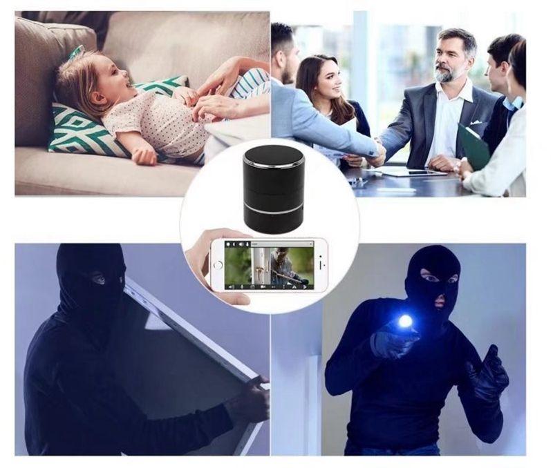 Wireless WiFi Bluetooth Speaker Camera HD 1080P Music Player pinhole Camera MINI DV DVR support Motion Detection home security DVR
