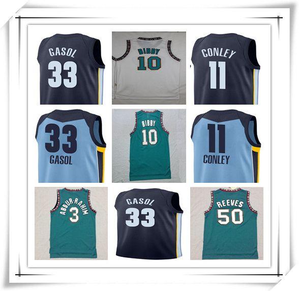 21e0cd8b5e00 ... shopping top new mens 11 mike conley jersey blue 33 marc gasol 3  shareef abdur rahim