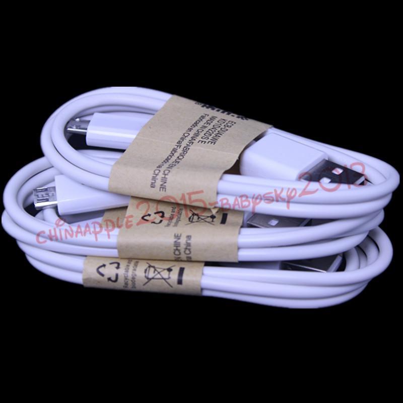 العالمي 3FT مايكرو كابل الناقل التسلسلي العام أبيض أسود V8 5PIN USB مزامنة بيانات كابلات الشحن للحصول على سامسونج غالاكسي S6 S7 حافة S3 S4 ملاحظة 2 4 هتك الروبوت هواتف