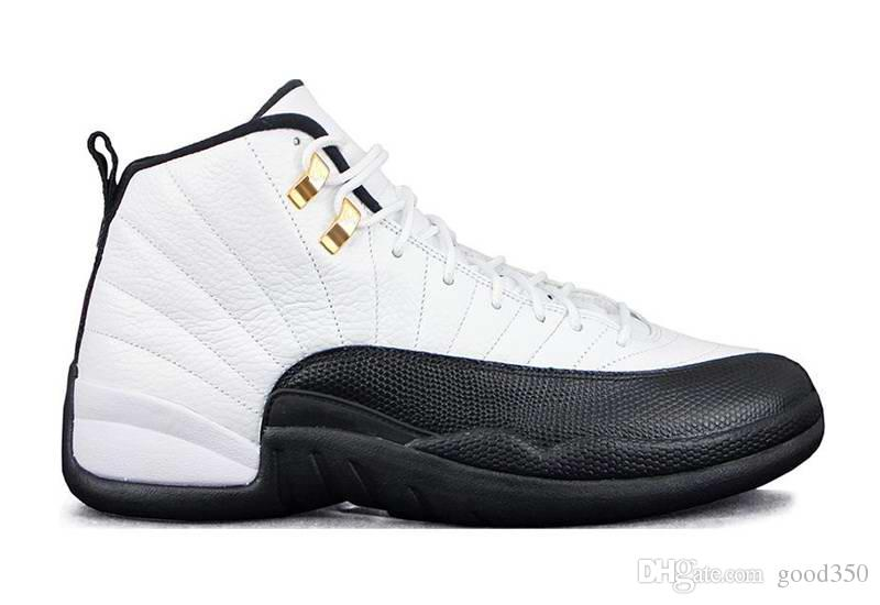 2018 Top quality Mens Basketball Shoes 12 12s TAXI Playoff BLAck Flu Game Cherry 12s XII Men Sneakers boots US5-US13