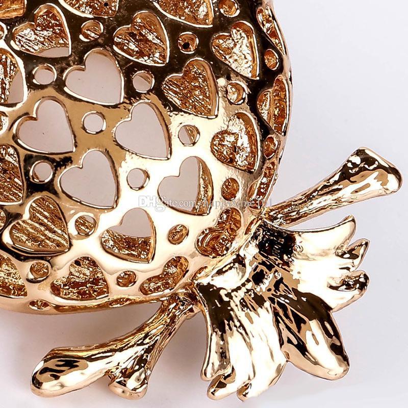 2017cute owl imitation diamond gold key chains alloy weave bell penden bohemia Creative bag pendant creative key chain for women jewelry