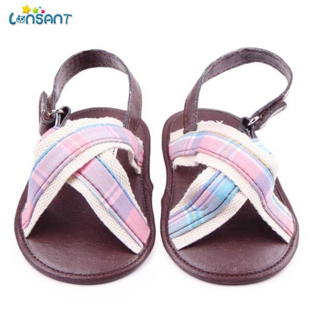 c22116ea2 LONSANT Summer Baby Boys Sandals Newborn Kids Soft Sole Beach Shoes Casual  Anti Slip Flat Shoes Infant Toddler Boys Sandals N30 Girls Athletic Shoes  Junior ...