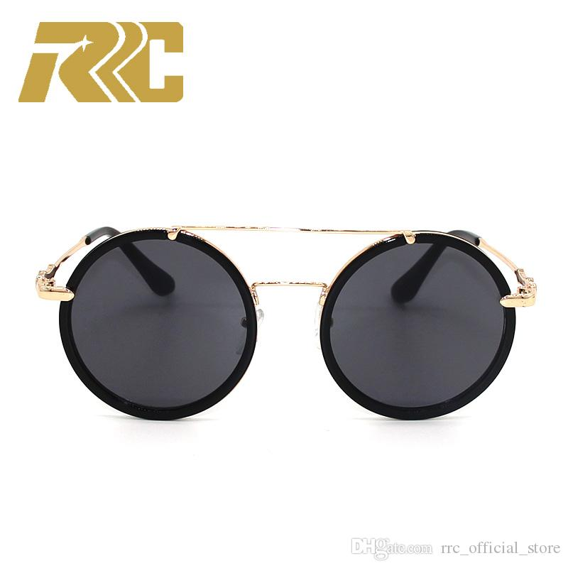57112d3e3799 RRC G0061 Sunglasses Luxury Women Brand Designer 0061 Fashion Round ...