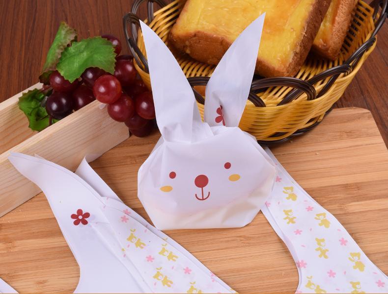 2018 Yeni Moda Çevre Dostu Pişirme Gıda Ambalaj Çanta Çerez Tatlı Şeker Hediye Çantası 13.5 * 23 cm Plastik Ambalaj Çanta