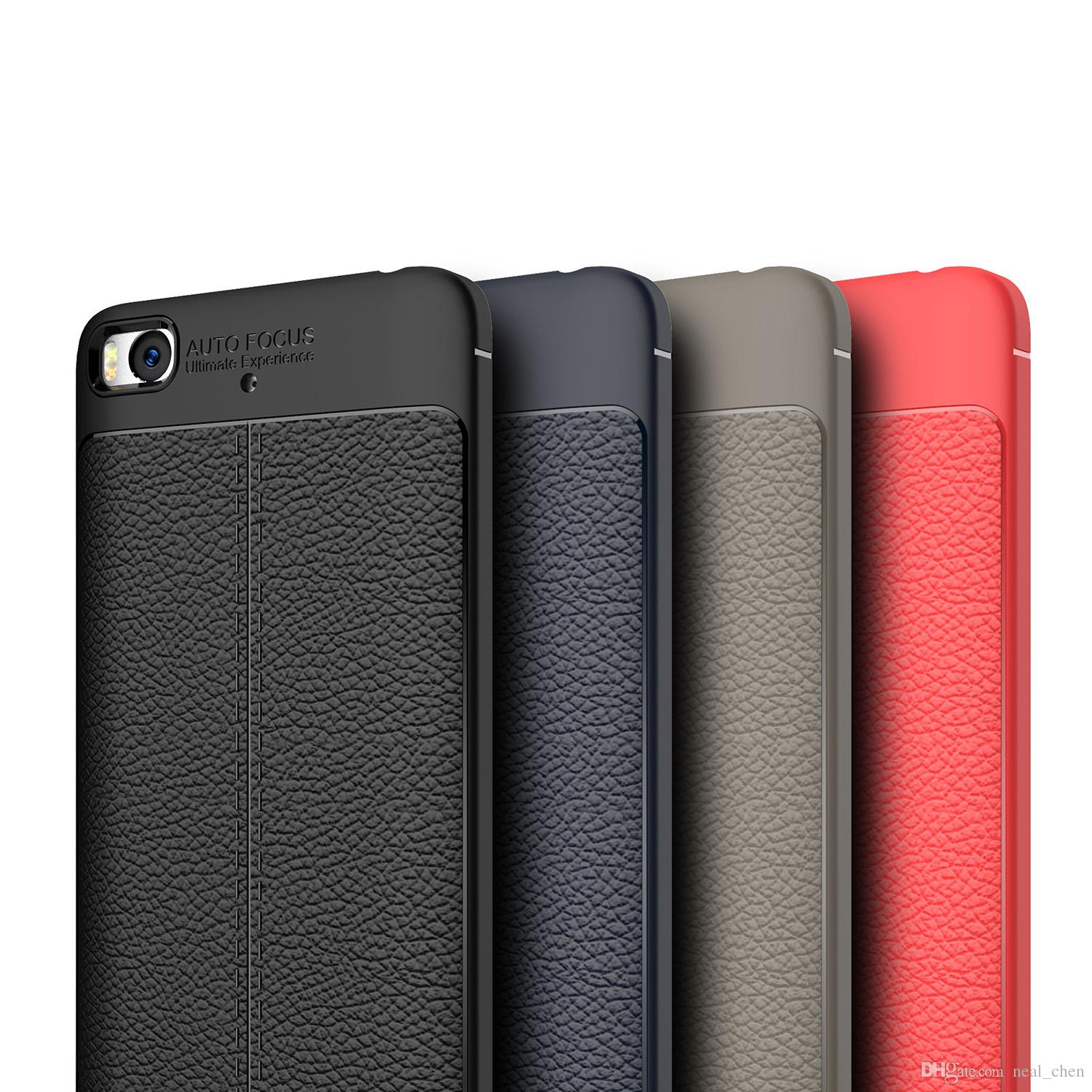 76e70098b837 Luxury Soft TPU Leather Cases Carbon Fiber Coque Cover For Xiaomi Mi 5C 5S  5X A1 Max Mix 2 Note 3 Redmi Max2 Mix2 Online with  2.76 Piece on  Neal chen s ...