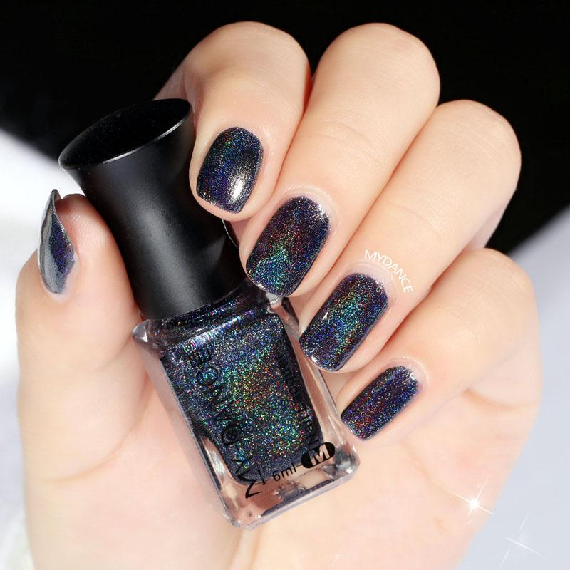 Holographic Holo Glitter Nail Polish Varnish Hologram Effect