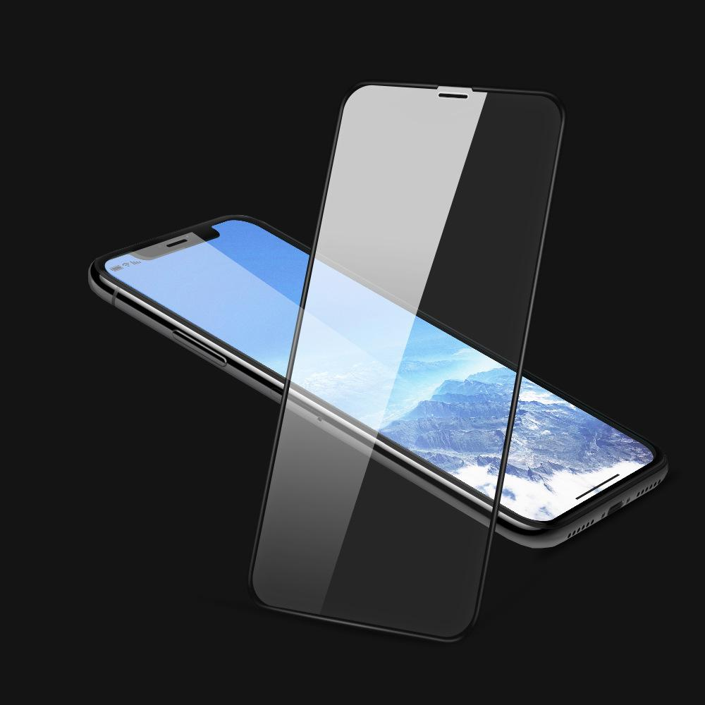 brand new b4c79 3e1c6 Suitable for IPhone X Screen Protectors Toughened Membrane Apple X Screen  Two Strong Toughened Glass