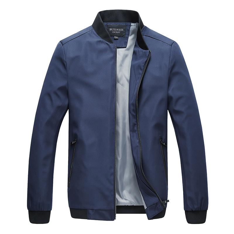 Classic Office Jacket Business Thin For Men Spring Autumn Male