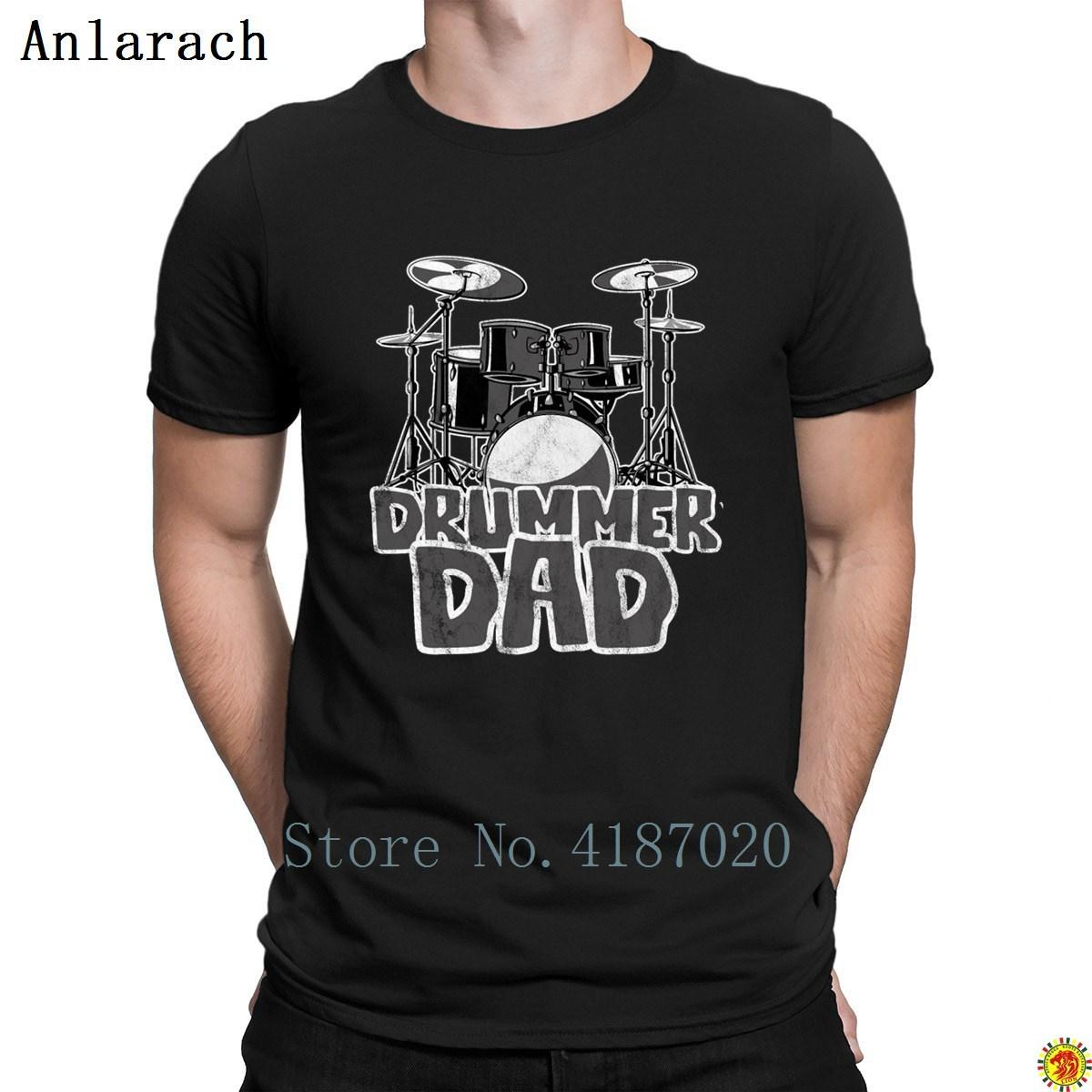 f7639548 Drummer Dad Drumset T Shirts Original Awesome Summer Top 2018 T Shirt For  Men High Quality Create Breathable Cotton Coolest Shirts Funny T Shirt  Slogans ...