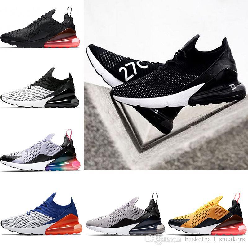 01eb14bb2af8a3 270 270s Men Women Running Shoes Betrue Teal Black White Volt Light ...