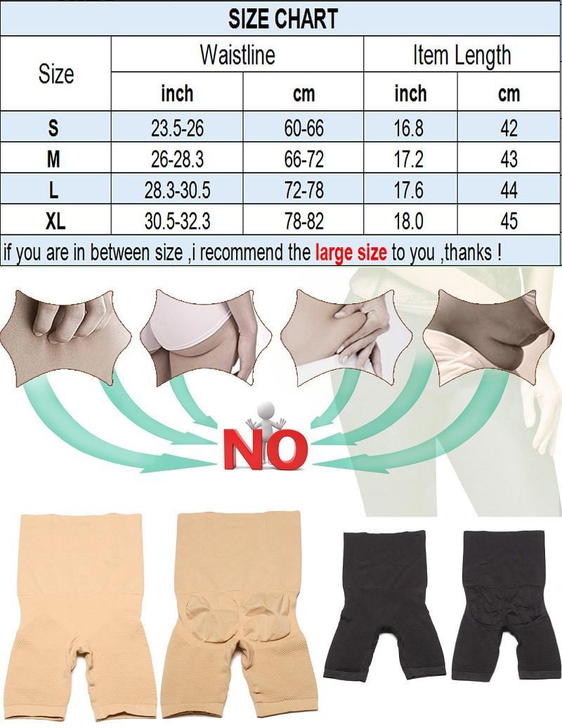 Сексуальная прикладом Lifter женщины похудения корректирующее белье животик управления трусики высокой талией тренер Body Shaper Boyshort Tight Power короткие бесплатная доставка