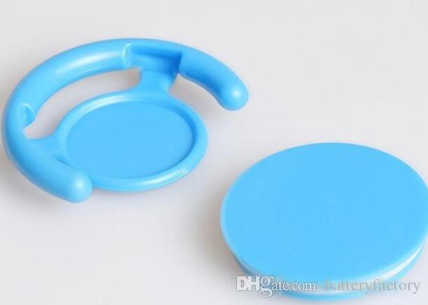 Универсальный телефон стенд красочные автомобильный держатель телефона гибкий чистый цвет мобильный телефон анти-падение стенд поддержка для iphone 7 8
