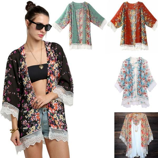 Cardigan Loose 32 2019 From Women Kimono Floral Coat Blouse Com Long 17 Heartttt Boho Jacket DHgate Lace Chiffon gpfpwSxq