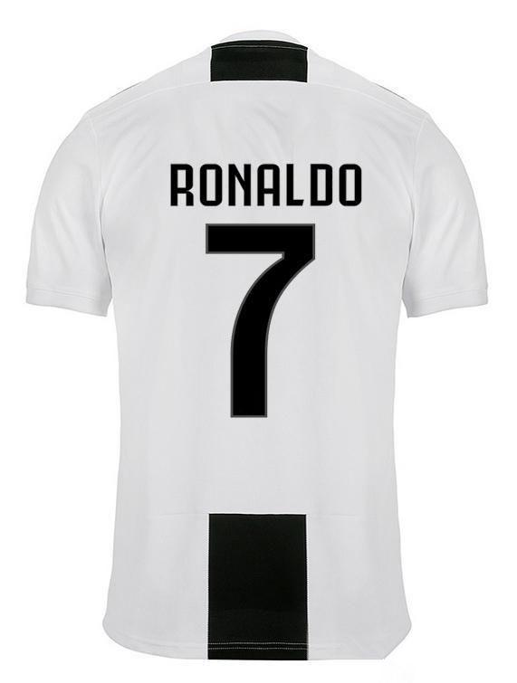 cd78141f3 Compre NEW RONALDO JUVENTUS Camisa De Futebol 18 19 JUVE 2018 2019 Home  DYBALA HIGUAIN MANDZUKIC Camisa De Futebol D. Costa BUFFON Home BLACK WHITE  De ...