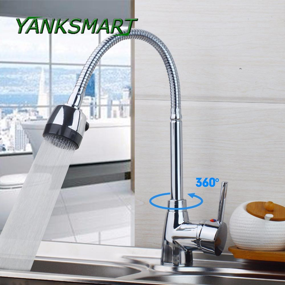 2019 wholesale kitchen sink basin faucet swivel spout chrome ceramic rh dhgate com
